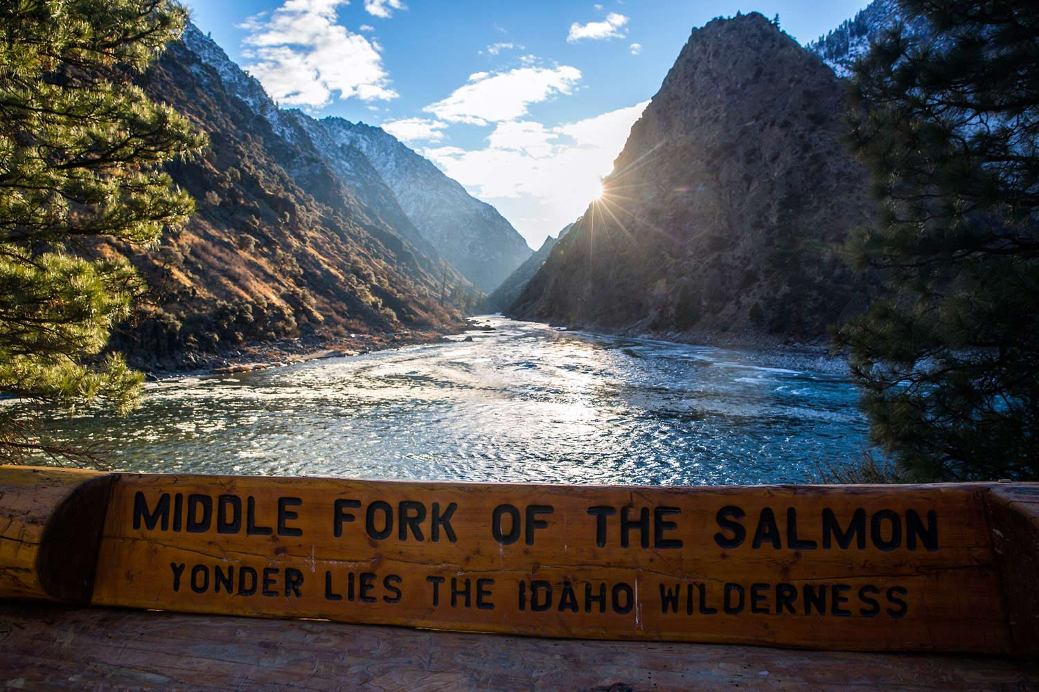 Middle Fork Salmon Confluence